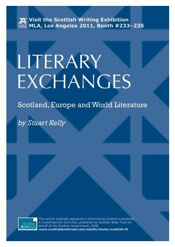 Literary Exchanges: Scotland, Europe and World Literatures by ...