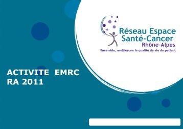 rapport d'activité des EMRC 2011