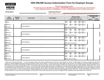 Loccs Access Authorization Security Form For Hud Staff