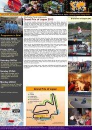 Grand Prix of Japan 2013 - Pole Position Travel