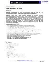 TCP/IP Protokolle in der Praxis - VAF - Bundesverband ...