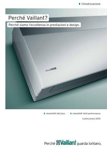 Catalogo Climatizzazione - Vaillant