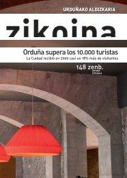Zikoina 148. Febrero 2010 - Urduñako Udala