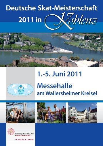 DM Koblenz 2011 - International Skat Players Association
