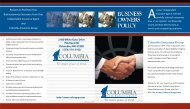 to download the brochure. - Columbia Insurance Group