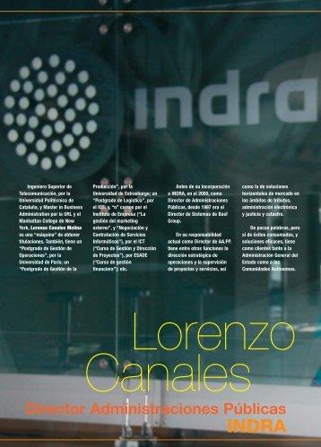 D. Lorenzo Canales - Revista DINTEL Alta Dirección