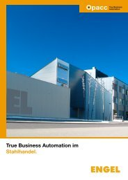 True Business Automation im Stahlhandel. - EDP-Services AG