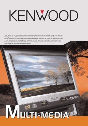 Open PDF (789 KB) - Kenwood