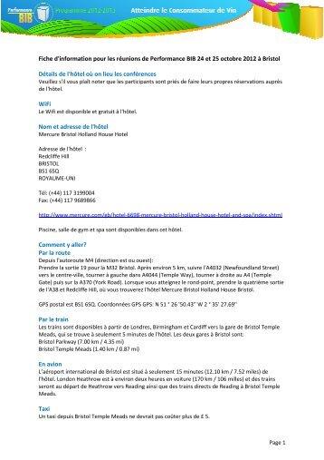 73cf17f41c3 Les détails sur l hôtel et autres informations pratiques  638KB