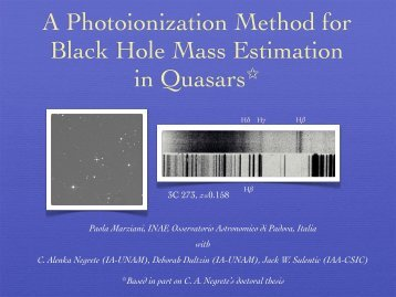 A Photoionization Method for Black Hole Mass Estimation in Quasars