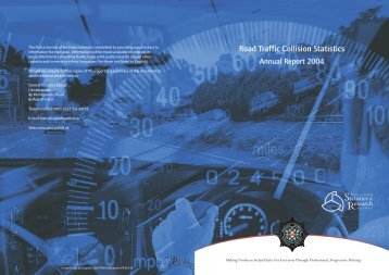 Injury Road Traffic Collision Statistics Annual Report 2004 (PDF, 1.8 ...