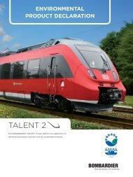 TALENT 2 - The International EPD® System