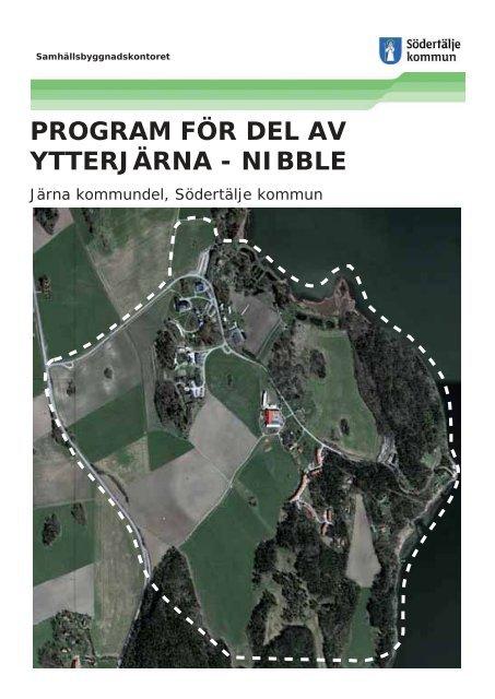 program för del av ytterjärna - nibble - Södertälje kommun