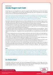Erweiterte Einleitung zum Buch - Don Bosco Medien