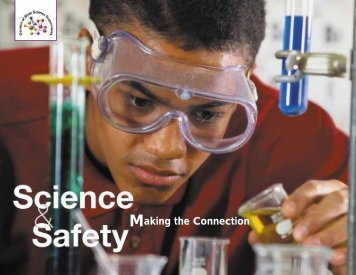 Science and Safety, Making the Connection - Council of State ...