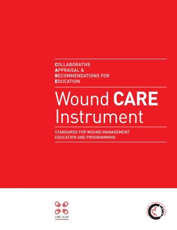 Wound Care Instrument - Canadian Association of Wound Care