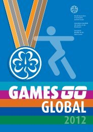 Wagggs games - World Association of Girl Guides and Girl Scouts