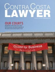 Our Courts - Contra Costa County Bar Association