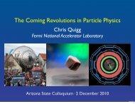 10 - Chris Quigg - Fermilab