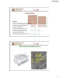 Biološke, fizikalne in mehanske lastnosti - Oddelek za lesarstvo ...