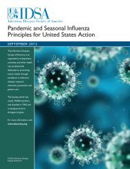 Pandemic and Seasonal Influenza Principles for ... - CommPartners
