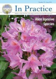 article on perceptions of invasive species - Harper Adams University ...