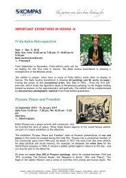 IMPORTANT EXHIBITIONS IN VIENNA → Frida Kahlo ... - Kompas
