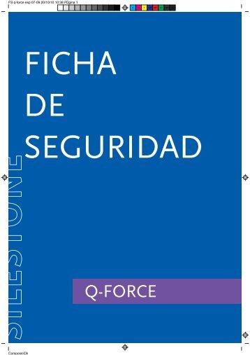 Ficha de Seguridad Q - Force - Silestone