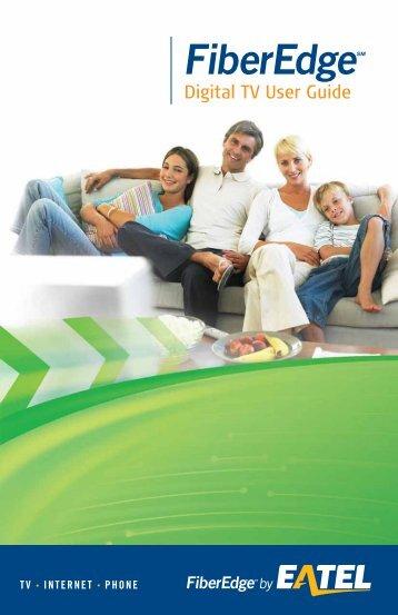 Digital TV User Guide - EATEL.com