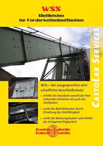 WSS - Wear Sliding Strips_DE_V1.1.indd - Castolin Eutectic