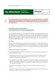 H2-Atemtest