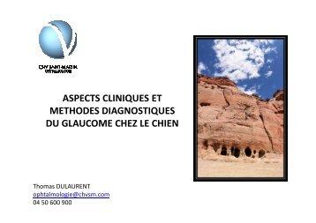 aspects cliniques - Association pour la Formation en Ophtalmologie ...