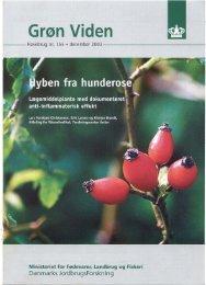 Grøn Viden Havebrug Nr. 155, December 2003 - Hyben Vital ApS