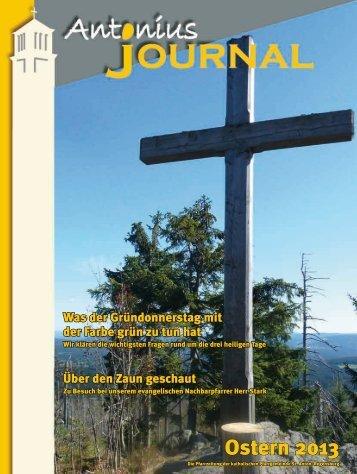 Antonius-Journal - Pfarrei St. Anton Regensburg