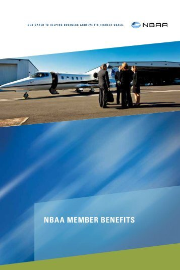 Download a PDF of our Member Benefits Brochure - NBAA