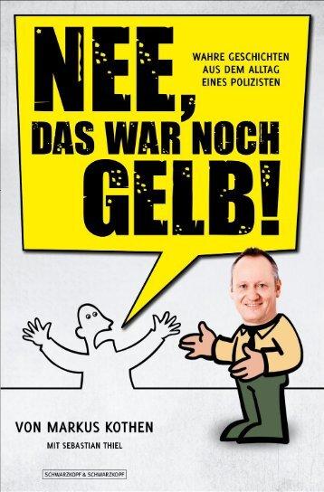 NEE, DAS WAR NOCH GELB! - Sebastian Thiel