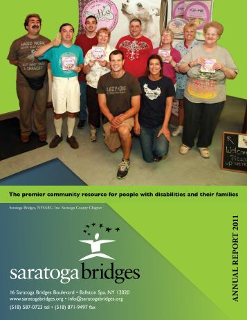 2011 Annual Report - Saratoga Bridges