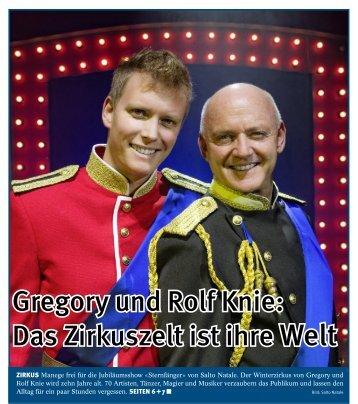 Gregory und Rolf Knie: Das Zirkuszelt ist ihre Welt - Salto Natale