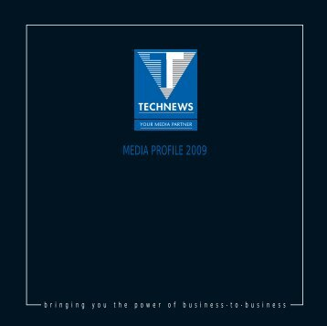 Technews Publishing Media Profile 2009 (rev 3)
