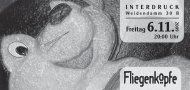 Einladung als PDF-Datei downloaden - Fliegenköpfe