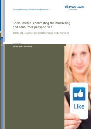 Social media: contrasting the marketing and consumer perspectives
