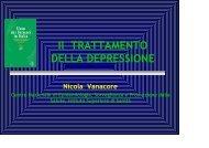 scarica l'intervento del dottor Nicola Vanacore ... - Sardegna Salute