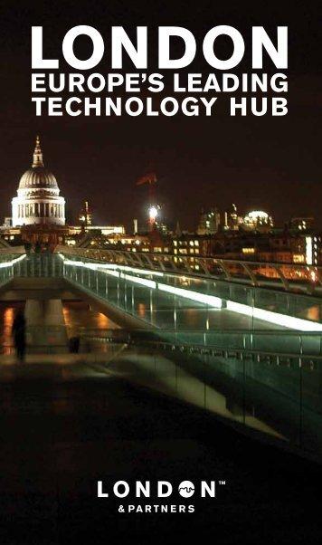 EUROPE'S LEADING TECHNOLOGY HUB - London & Partners