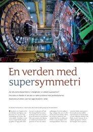 En verden med supersymmetri - Aktuel Naturvidenskab