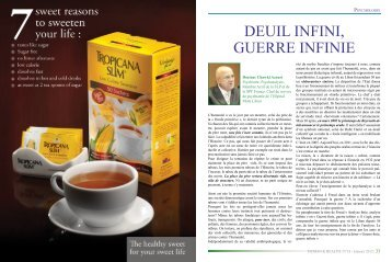DEUIL INFINI, GUERRE INFINIE - Syndicate of Hospitals in Lebanon