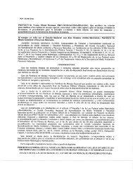 PROYECTO de Norma Oficial Mexicana PROY-NOM-161 ...