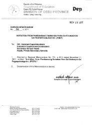 NW 22 ZUII - DepEd Cebu Province