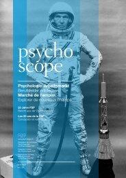 Psychologie-Arbeitsmarkt Berufsfelder entdecken Marché de l ...