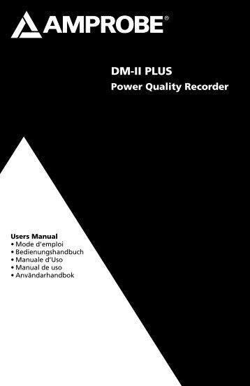 DM-II PLUS - BEHA-AMPROBE
