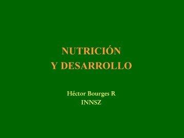 PANORAMA ACTUAL DE LA NUTRICION DE LA POBLACION ...